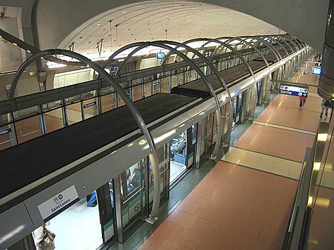 линии парижского метро.